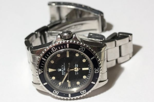 An old Rolex watch