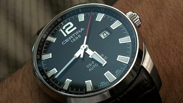 certina wrist watch